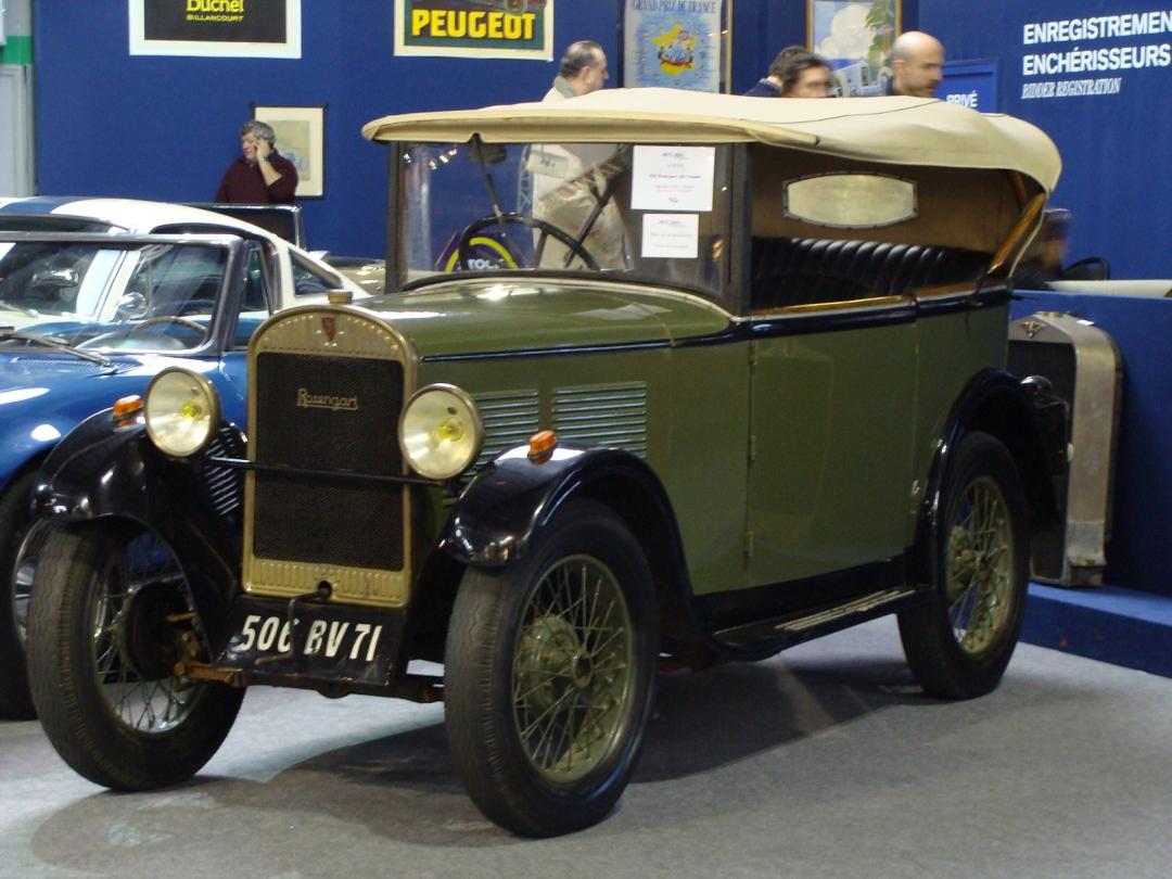 Rétromobile 2012 - Artcurial (Vendue 5.361 €)